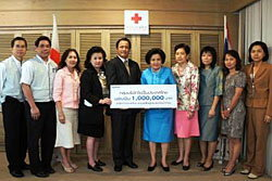 กลุ่มบริษัทโซนี่ในประเทศไทยร่วมใจช่วยเหลือผู้ประสบอุทกภัย