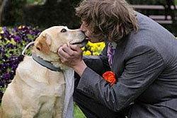ตะลึง! หนุ่มออสซี่แต่งงานกับสุนัขลาบราดอร์
