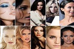 10 อันดับสาวหน้าสวยที่สุดปี 2010