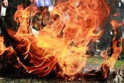 หนุ่มเบญจเพส รักคุด จุดไฟเผาตัวเองตาย