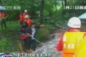 จีนอพยพประชาชนกว่า 250,000 คนหนีน้ำท่วม