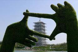 มหกรรมพืชสวนโลกในจีน สวยงามไม่แพ้ไทย