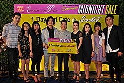 The Mall , The Emporium , Siam Paragon SUMMER MIDNIGHT SALE กับกิจกรรม 1 Day Hot Date กับ เป้ อารักษ์