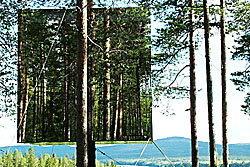 ตะลึง! โรงแรมกลางป่าที่สวีเดน อยู่เหนือผืนดิน