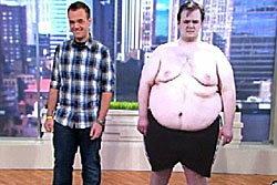 อึ้ง! หนุ่มสหรัฐลดความอ้วน98โล ภายใน1ปี