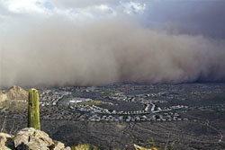 น่าสะพรึง! พายุฝุ่นยักษ์ พัดกลืนอริโซนาอีกระลอก