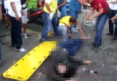 หนุ่มสติเฟื่องแย่งปืนตำรวจ ยิงหัวตัวเองดับคาโรงพัก