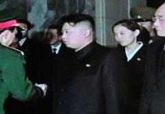 สื่อสงสัยสาวชุดดำในงานศพ คิม จองอิล