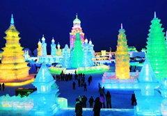 อลังการ! มหกรรมน้ำแข็งเย็นยะเยือกที่จีน