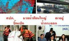 """ประมวล """"ศัพท์ฮิต"""" เหตุการณ์น้ำท่วมไทยปี 54"""