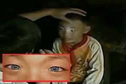 ฮือฮา! เด็กตาแมวที่จีน อ้างมองเห็นในที่มืด