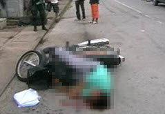 เขมรฆ่าข่มขืนแม่บ้าน ซิ่งรถหนีเจอชนดับ