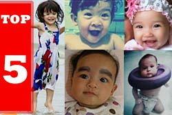 5 อันดับลูกสาวดารา สวยน่ารักโดนใจ!!!