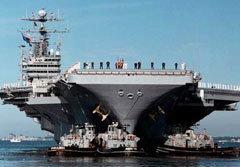 สหรัฐฯส่งเรือ ยูเอสเอส จอร์จ วอชิงตัน ช่วยน้ำท่วมไทย