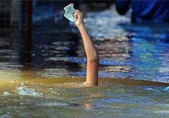 """สื่อนอกแพร่ภาพชุด """"Bangkok Underwater"""""""