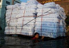 """สื่อนอกแพร่ภาพชุด """"Thailand flood reaches Bangkok"""""""
