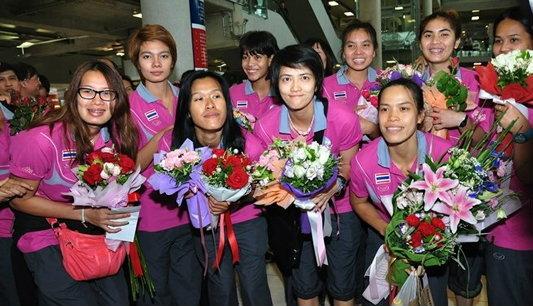 ชอกช้ำจากญี่ปุ่น วอลเลย์สาวไทยกลับบ้านแบบซึมๆ