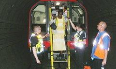 โกลาหล!หนีวุ่นน้ำทะลักท่วมรถไฟใต้ดิน