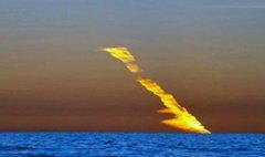 ตะลึง! ภาพอุกกาบาตลุกไหม้ตกทะเลที่ออสเตรเลีย