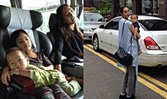 ตุ๊ก ชนกวนันท์ หอบลูกๆ บินเที่ยวลั้ลลาเกาหลี