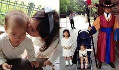 น้องแพรว น้องภูมิ ซนปนน่ารัก ส่งท้ายเกาหลี