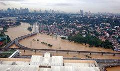 มหัตภัยใหญ่! น้ำท่วมมะลิลา เมืองหลวงฟิลิปปินส์