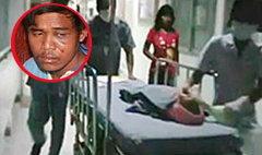 รวบแล้วแรงงานพม่าใช้มีดโกนปาดคอเด็ก 2 เดือน