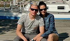 มิกซ์ เจนจิรา เกิดประสพ อดีตมิสไทยแลนด์เวิลด์ แต่งงานกับนักบอลมอลโดวา