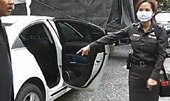 พิรุธ! ผู้กองสาวทุบรถ ไม่มีชื่อในสารบบตำรวจ