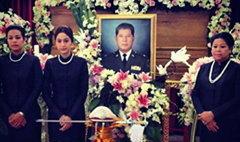 พระราชทานเพลิงศพพ่อขวัญ อุษามณี นางเอกช่อง 7