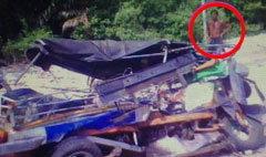 ภาพถ่ายติดวิญญาณคนขับตุ๊กตุ๊ก จากอุบัติเหตุสยอง