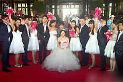 มหาเศรษฐีจีนทุ่ม 350 ล้าน จัดงานแต่งลูกสาว