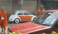 ชาวอุตรดิตถ์สุดทน แอบถ่ายพระตระเวนขับรถซื้อของ