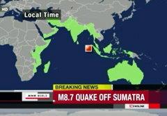 ประมวลภาพหนีตายแผ่นดินไหว เตือนสึนามิ 2012