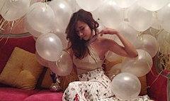 ส่อง'อั้ม พัชราภา'ในปาร์ตี้วันเกิดเพื่อนสาว