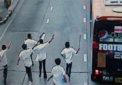 ไม่รอด! จับแล้ว 3 นักเรียนช่างกล ล้อมรถเมล์ยิงอริ