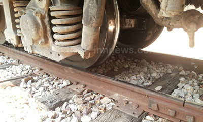 ผู้ว่าฯ รถไฟเผย รางถูกขโมยตะปู เหตุรถไฟฟรีตกราง