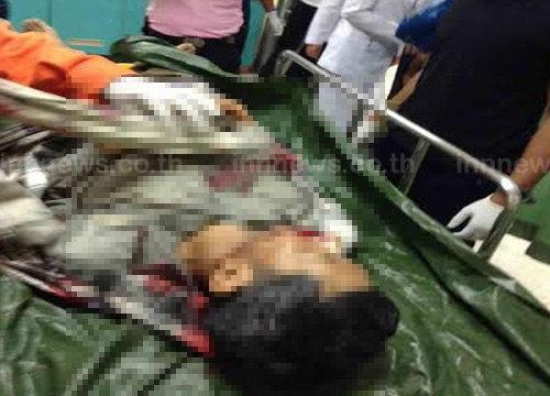 ศพชาวบ้านถูกยิงตายในสวนยางพารายะลา
