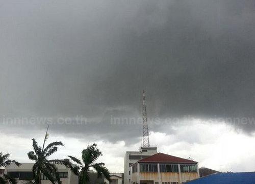 อุตุฯเตือนไทยตอนบนมีฝนตกบางแห่ง