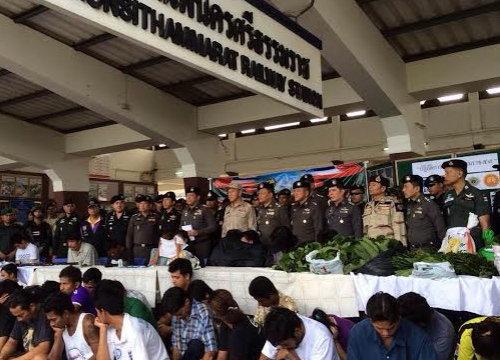 พงศพัศเผยจับผู้ต้องหา109รายทั่วนครศรีธรรมราช