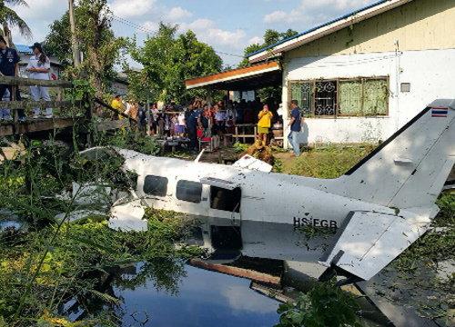 ผบก.น.3เผยเครื่องบินเล็กตกเกิดจากเครื่องรวน