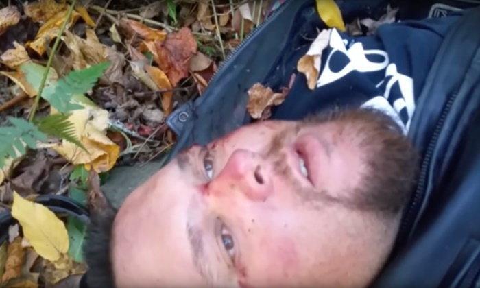 สะเทือนใจ หนุ่มอัดคลิปสั่งเสีย นอนรอความตายเพราะรถคว่ำ