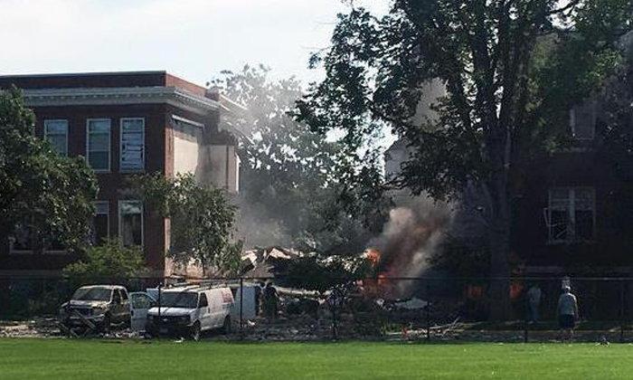 เกิดระเบิดที่โรงเรียนในอเมริกา ตึกพังทับดับ 1 ศพ