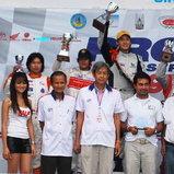 2 ดาวรุ่ง ขึ้นแท่นคว้ารางวัล PRO Racing Series สนาม 2