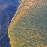 ภาพถ่ายทางอากาศ เหตุการณ์น้ำมันรั่วลงอ่าวเม็กซิโก