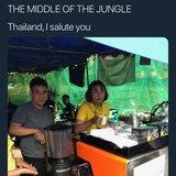เครื่องทำกาแฟกลางป่า เจมส์ ลองแมน รู้สึกทึ่ง