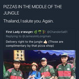 เจมส์ ลองแมน ได้เรียนรู้ว่า พิซซาเมืองไทยกินได้ทุกที่