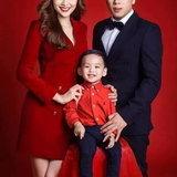 ซเวียมเฮือง กับสามีและลูกชายในปัจจุบัน