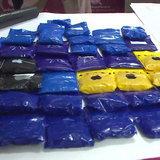 ตำรวจนครฯ รวบแก๊งยาบ้ามาแนวใหม่-เปลี่ยนสีเม็ดอำพรางกลิ่น ซีลถุงอย่างกับซองขนม