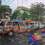 ประท้วงอินโดนีเซีย